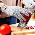 The gloves are made from food grade material and are perfectly safe to touch your food with. You can use them in kitchen to prevent accidental nicks and cuts.